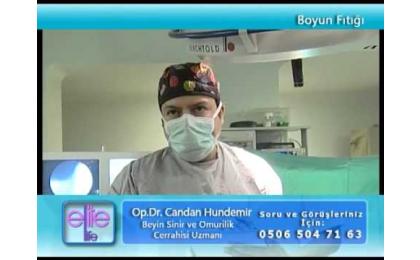 boyun fıtığı,boyun fıtığı ameliyatı,ameliyat görüntüleri,boyun fıtığı tedavisi,candan hundemir,beyin cerrahı